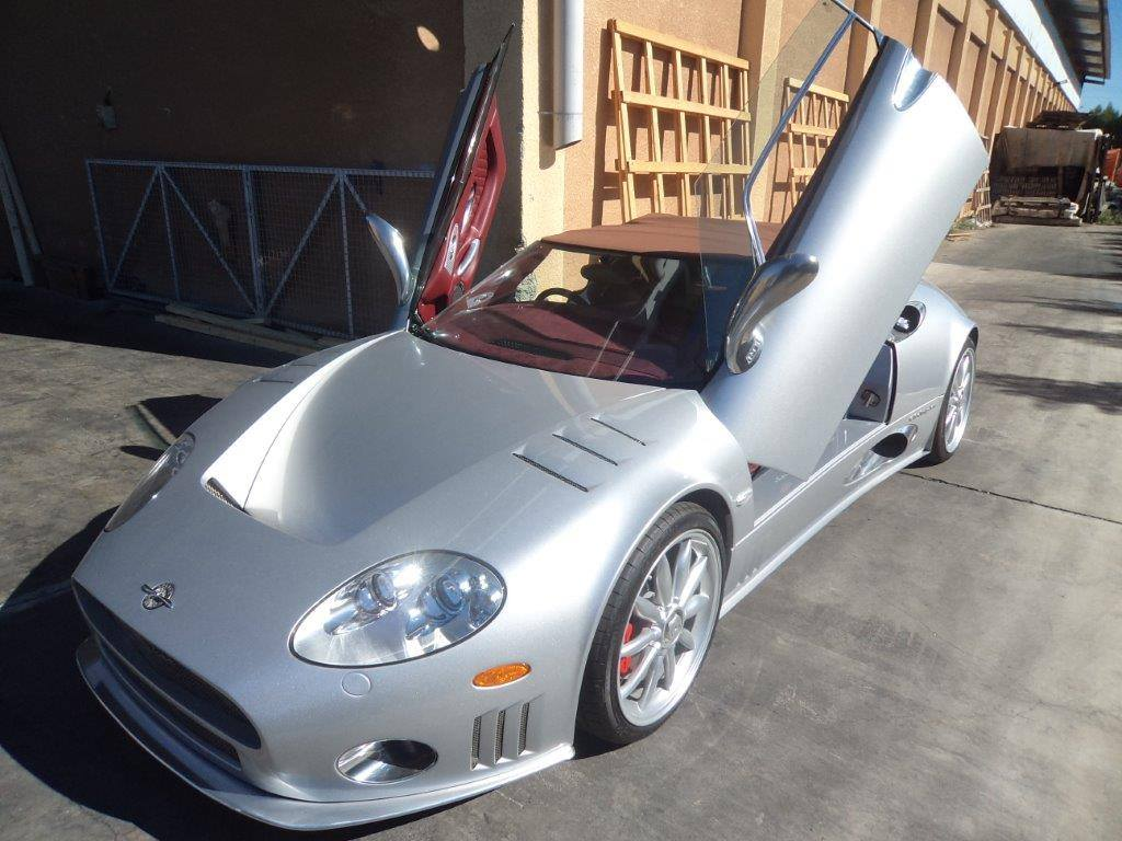 Spyker Spyder exported from Limassol