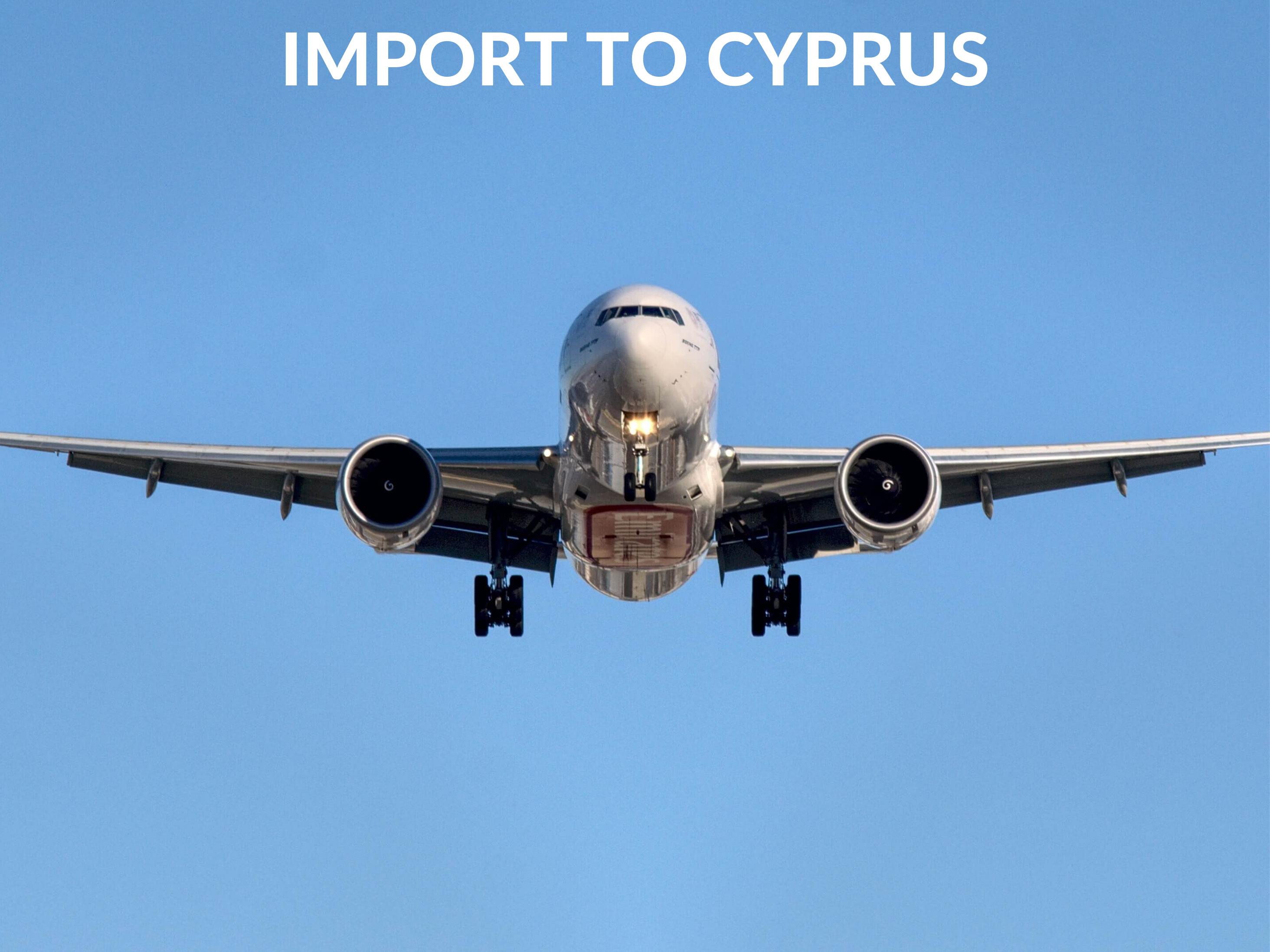 AIR IMPORT RATES TO CYPRUS