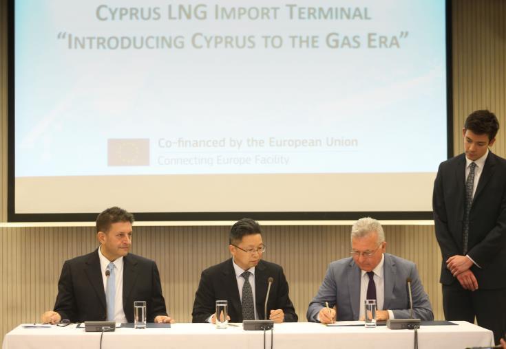 lng terminal cyprus